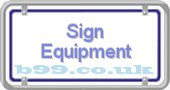 sign-equipment.b99.co.uk